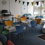 Reception meeting area
