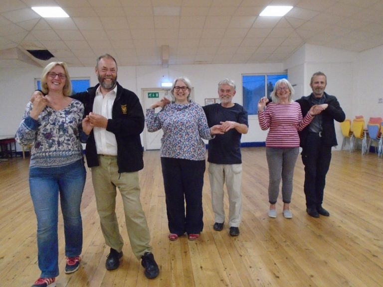 Upper Hall Cornish dancing